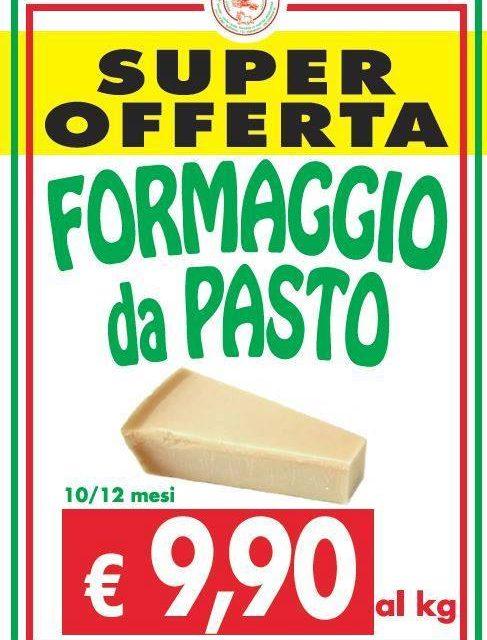 Offerta formaggio da pasto